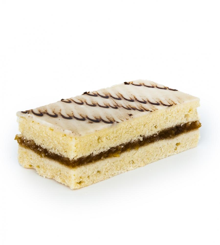 Пирожное Песочное глазированное помадкой