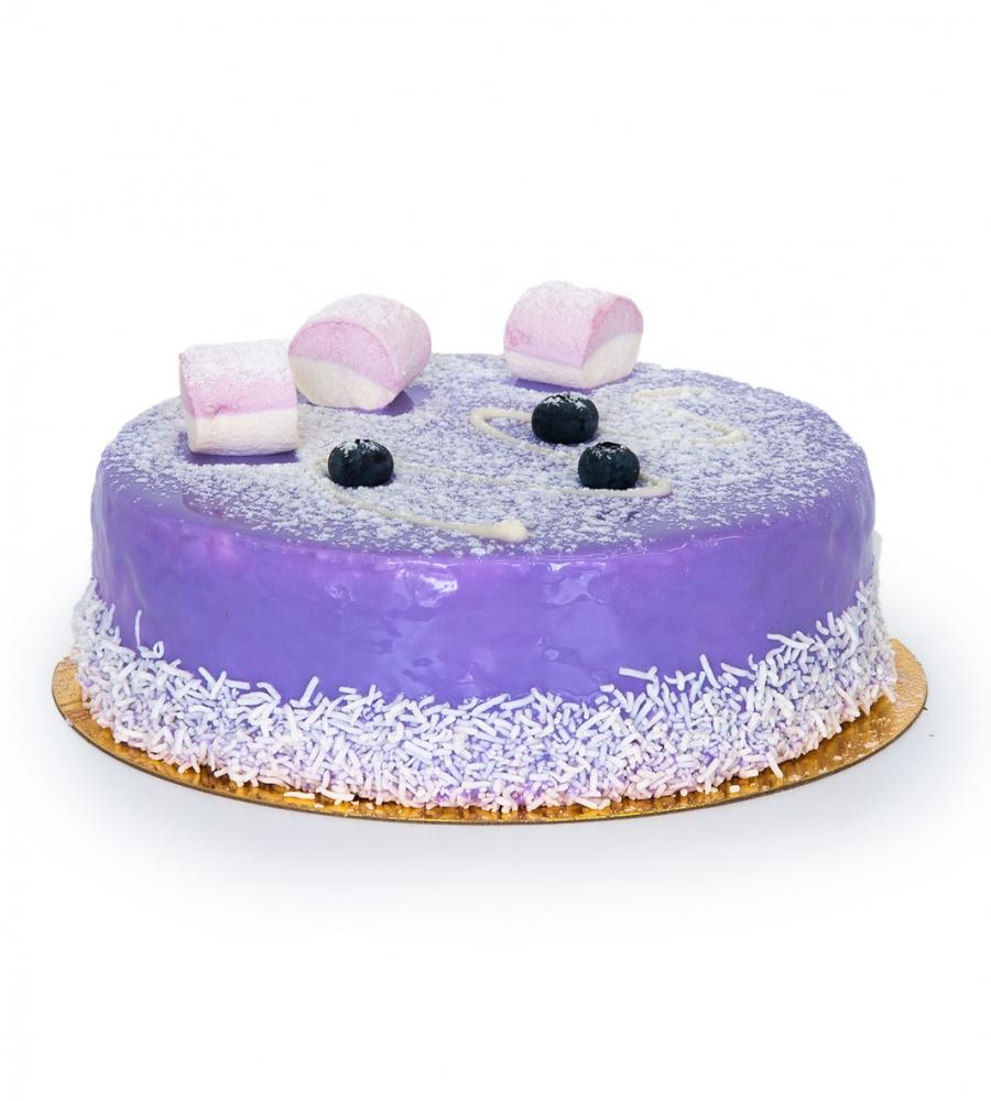 Торт Черничный мусс