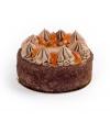 Торт Шоколадно-апельсиновый, постный