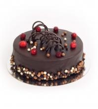Торт «Клюква в шоколаде»