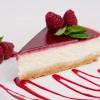 Десерт Чизкейк с малиной