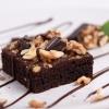 Десерт Брауни (классический) с грецким орехом