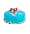 Торт «Мишка» (черничный мусс)