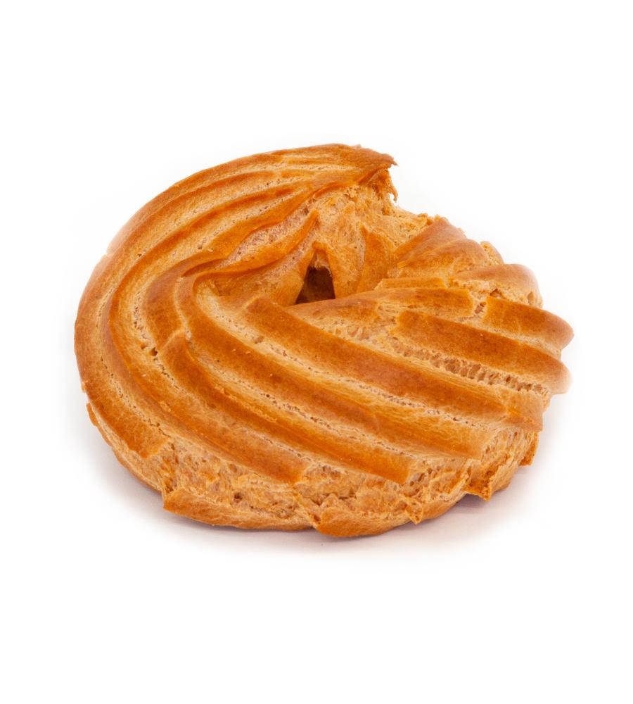 Пирожное Заварное кольцо с творожным кремом