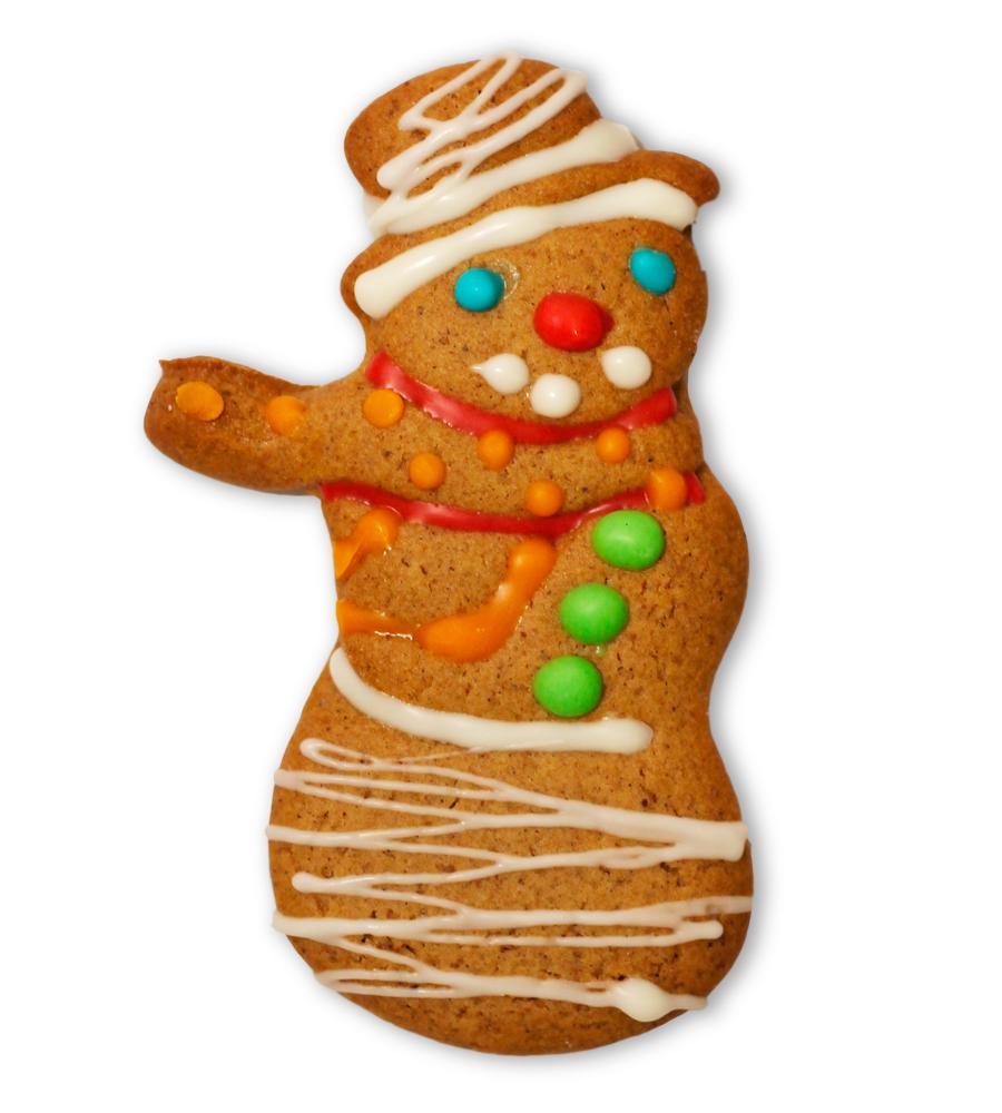 Печенье имбирное (Снеговик)